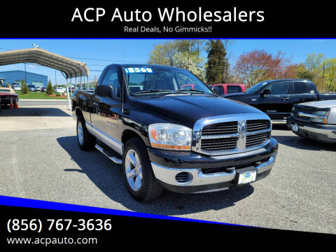 2006 Dodge Ram Pickup 1500 for sale at ACP Auto Wholesalers in Berlin NJ