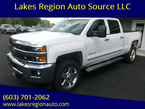 2015 Chevrolet Silverado 2500HD for sale at Lakes Region Auto Source LLC in New Durham NH
