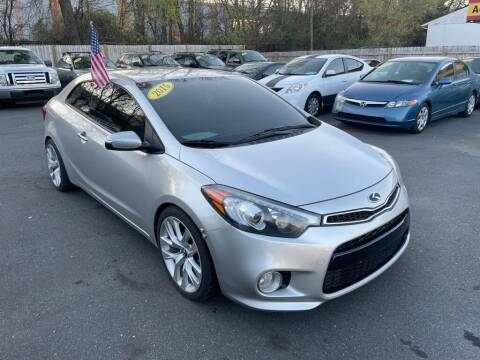 2015 Kia Forte Koup for sale at Auto Revolution in Charlotte NC