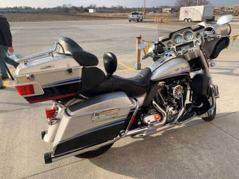 2009 Harley Davidson Electra Glide CVO Ultr Limited for sale at SEMPER FI CYCLE in Tremont IL