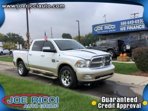 2011 RAM Ram Pickup 1500 for sale at JOE RICCI AUTOMOTIVE in Clinton Township MI