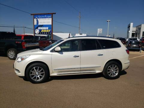 2015 Buick Enclave for sale at South Plains Autoplex by RANDY BUCHANAN in Lubbock TX
