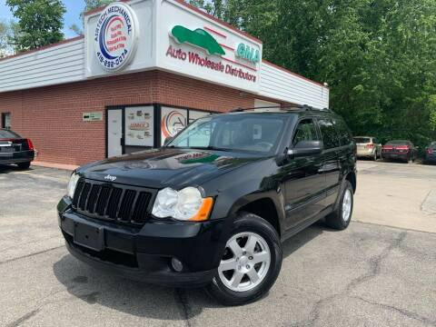 2008 Jeep Grand Cherokee for sale at GMA Automotive Wholesale in Toledo OH