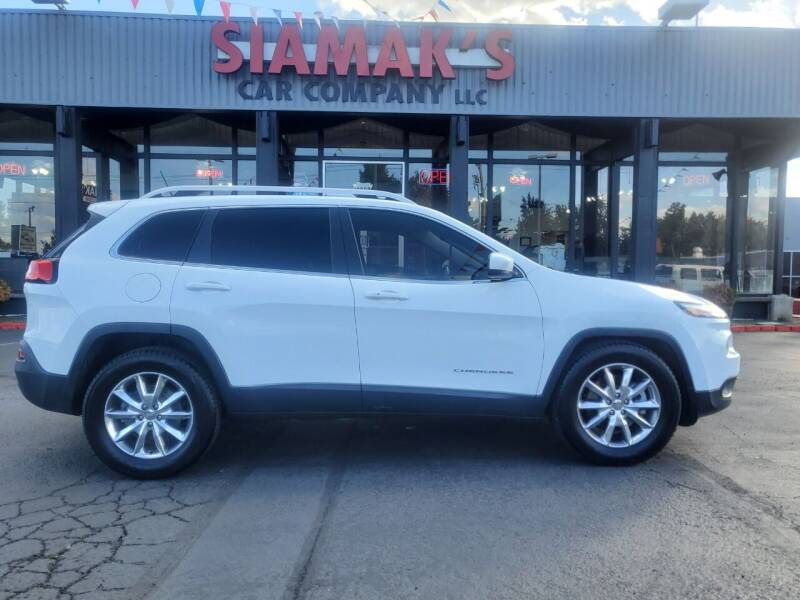 2014 Jeep Cherokee for sale at Siamak's Car Company llc in Salem OR