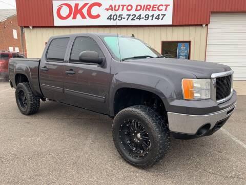 2010 GMC Sierra 1500 for sale at OKC Auto Direct in Oklahoma City OK