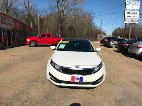 2013 Kia Optima for sale at MENDEZ AUTO SALES in Tyler TX