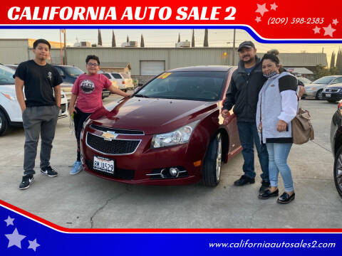 2014 Chevrolet Cruze for sale at CALIFORNIA AUTO SALE 2 in Livingston CA