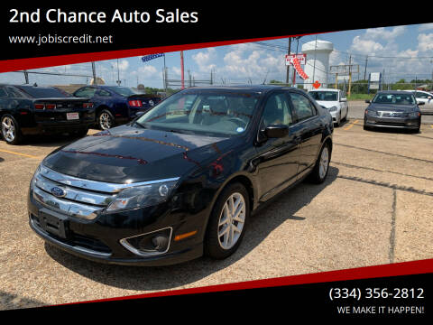 2012 Ford Fusion for sale at 2nd Chance Auto Sales in Montgomery AL