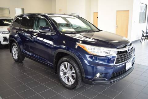 2015 Toyota Highlander for sale at BMW OF NEWPORT in Middletown RI
