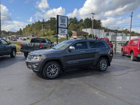 2014 Jeep Grand Cherokee for sale at Route 22 Autos in Zanesville OH