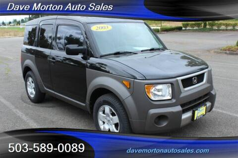 2003 Honda Element for sale at Dave Morton Auto Sales in Salem OR