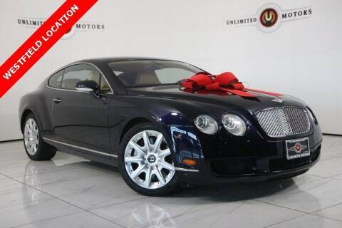 2005 Bentley Continental for sale at INDY'S UNLIMITED MOTORS - UNLIMITED MOTORS in Westfield IN