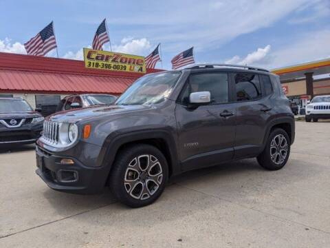 2017 Jeep Renegade for sale at CarZoneUSA in West Monroe LA