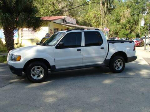 2003 Ford Explorer Sport Trac for sale at VANS CARS AND TRUCKS in Brooksville FL