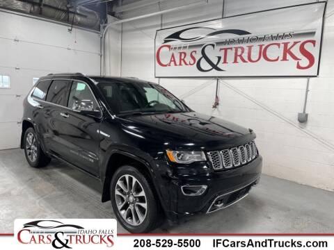 2017 Jeep Grand Cherokee for sale at Idaho Falls Cars and Trucks in Idaho Falls ID