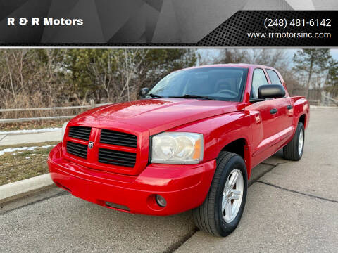 2007 Dodge Dakota for sale at R & R Motors in Waterford MI