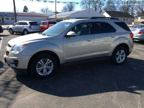 2014 Chevrolet Equinox for sale at BISHOP MOTORS inc. in Mount Carmel IL
