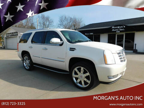 2014 Cadillac Escalade for sale at Morgan's Auto Inc in Paoli IN