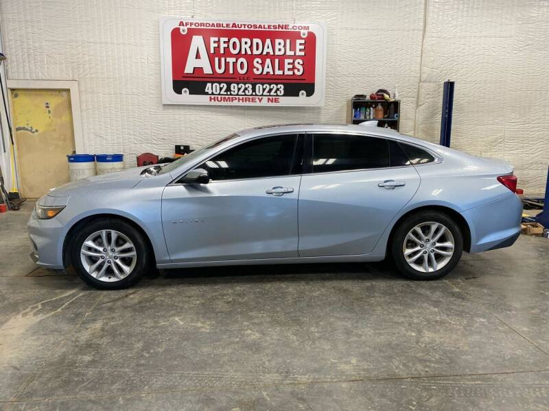 2018 Chevrolet Malibu for sale at Affordable Auto Sales in Humphrey NE