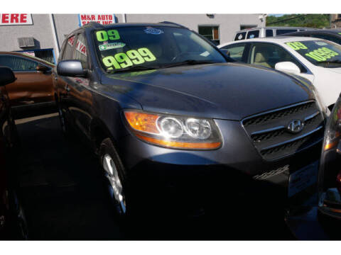 2009 Hyundai Santa Fe for sale at M & R Auto Sales INC. in North Plainfield NJ