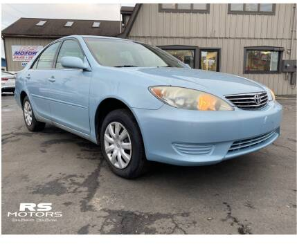 2005 Toyota Camry for sale at RS Motors in Falconer NY