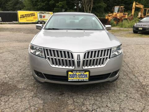 2010 Lincoln MKZ for sale at Worldwide Auto Sales in Fall River MA