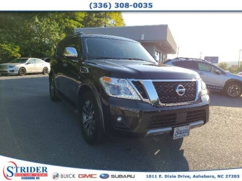 2019 Nissan Armada for sale at STRIDER BUICK GMC SUBARU in Asheboro NC