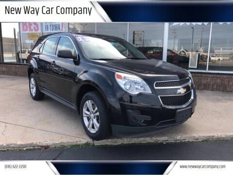 2013 Chevrolet Equinox for sale at New Way Car Company in Grand Rapids MI