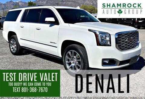 2018 GMC Yukon XL for sale at Shamrock Group LLC #1 in Pleasant Grove UT