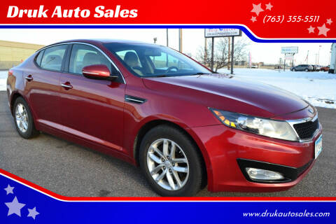 2013 Kia Optima for sale at Druk Auto Sales in Ramsey MN