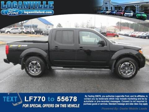 2017 Nissan Frontier for sale at Loganville Quick Lane and Tire Center in Loganville GA