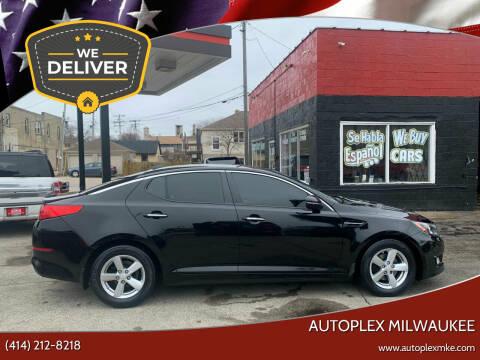 2014 Kia Optima for sale at Autoplex 2 in Milwaukee WI