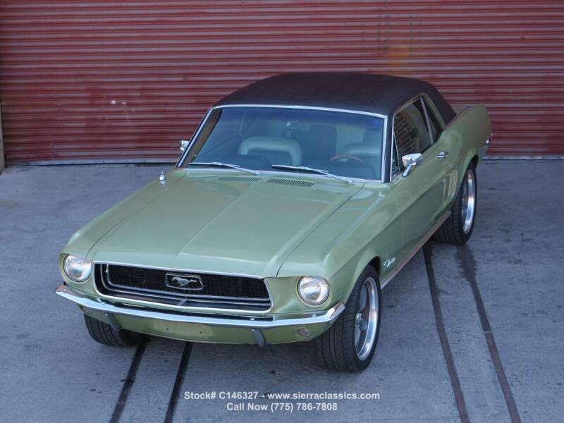 1968 Ford Mustang for sale at Sierra Classics & Imports in Reno NV
