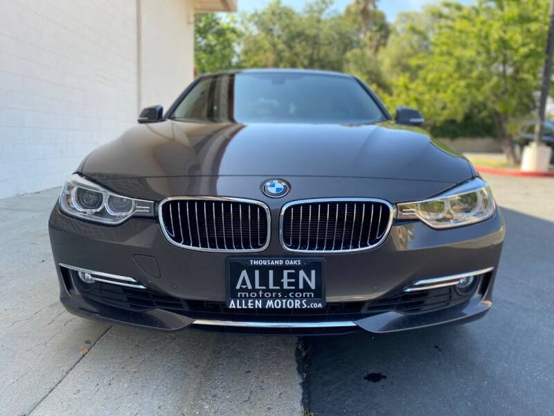 2014 BMW 3 Series for sale at Allen Motors, Inc. in Thousand Oaks CA