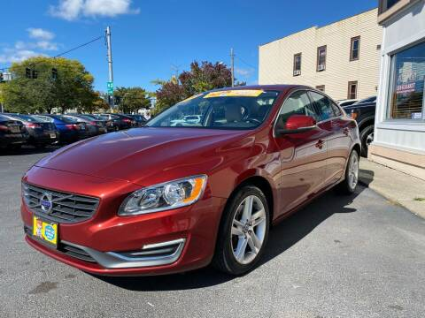 2014 Volvo S60 for sale at ADAM AUTO AGENCY in Rensselaer NY
