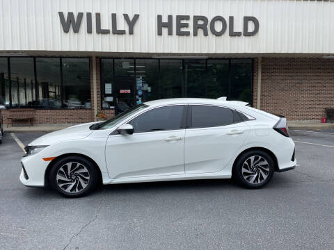2018 Honda Civic for sale at Willy Herold Automotive in Columbus GA