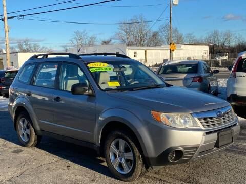 2011 Subaru Forester for sale at MetroWest Auto Sales in Worcester MA