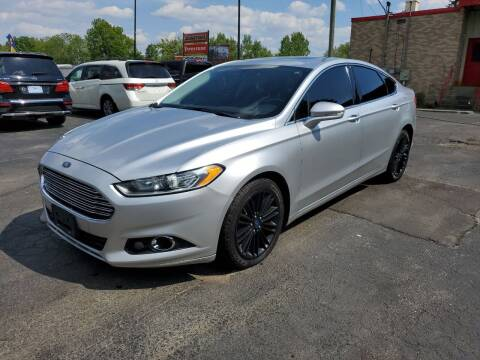 2014 Ford Fusion for sale at Drive Motor Sales in Ionia MI