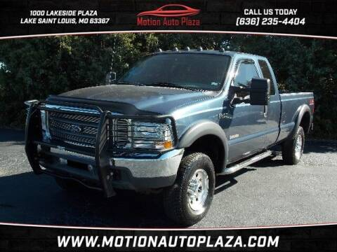 2004 Ford F-250 Super Duty for sale at Motion Auto Plaza in Lakeside MO