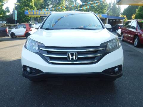 2013 Honda CR-V for sale at Brooks Motor Company, Inc in Milwaukie OR