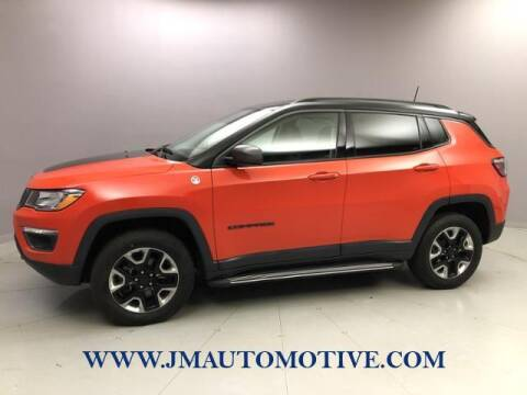 2018 Jeep Compass for sale at J & M Automotive in Naugatuck CT