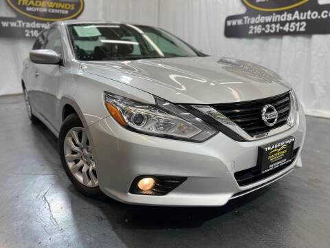 2017 Nissan Altima for sale at TRADEWINDS MOTOR CENTER LLC in Cleveland OH