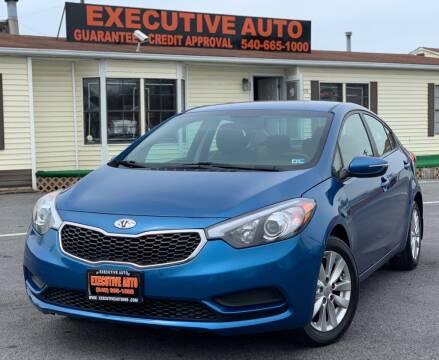 2014 Kia Forte for sale at Executive Auto in Winchester VA