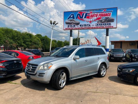 2010 Mercedes-Benz GL-Class for sale at ANF AUTO FINANCE in Houston TX