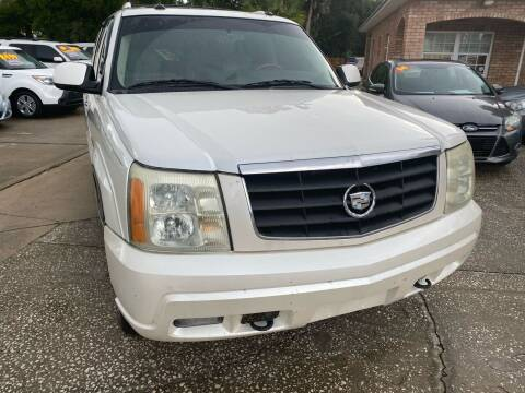 2003 Cadillac Escalade ESV for sale at MITCHELL AUTO ACQUISITION INC. in Edgewater FL