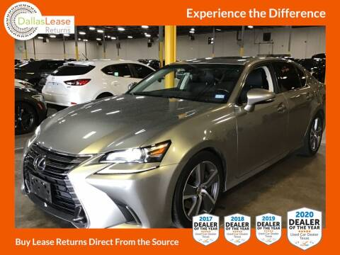 2017 Lexus GS 350 for sale at Dallas Auto Finance in Dallas TX