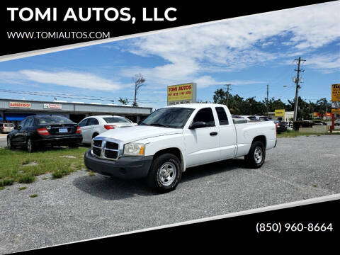 2005 Dodge Dakota for sale at TOMI AUTOS, LLC in Panama City FL