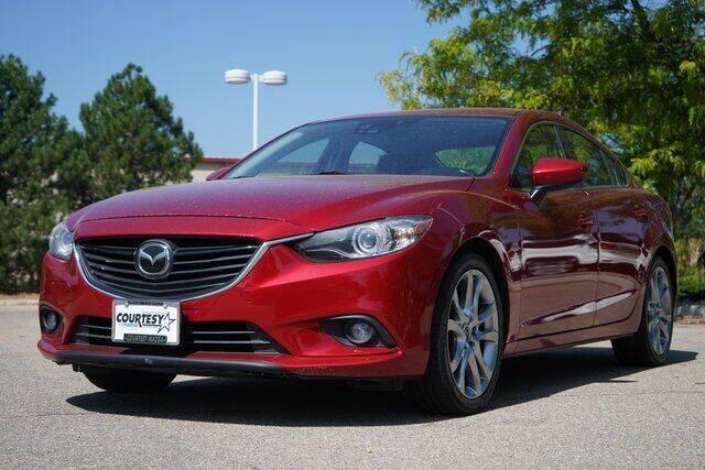 2014 Mazda MAZDA6 for sale at COURTESY MAZDA in Longmont CO