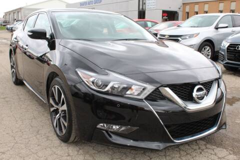 2017 Nissan Maxima for sale at SHAFER AUTO GROUP in Columbus OH