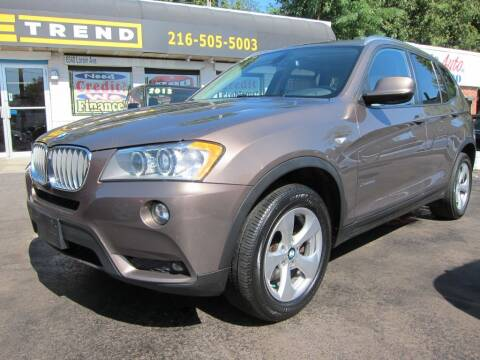 2012 BMW X3 for sale at DRIVE TREND in Cleveland OH